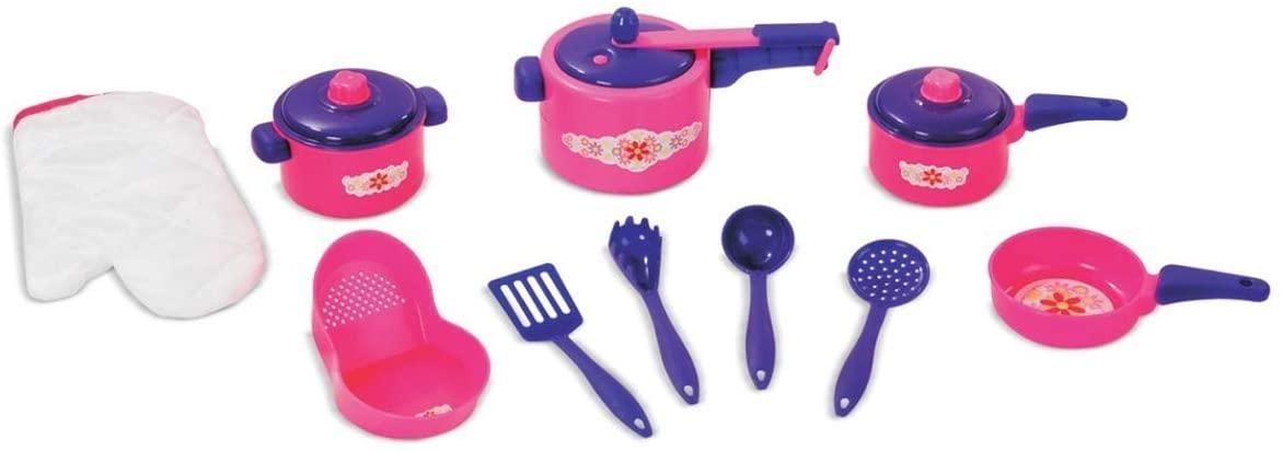 Kit de Cozinha Eu Brinco de Casinha Arroz e Feijão - Nig Brinquedos