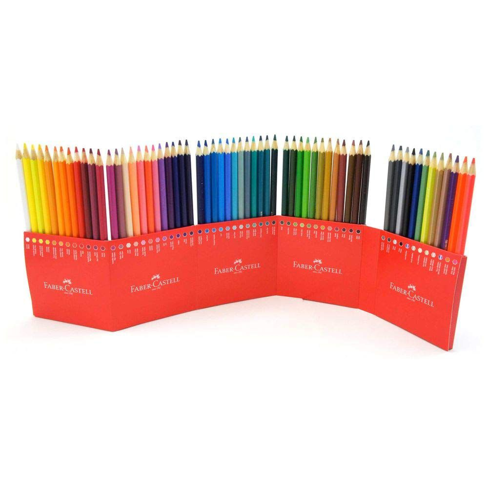 Lápis de Cor 60 Cores Faber-Castell - 120160G