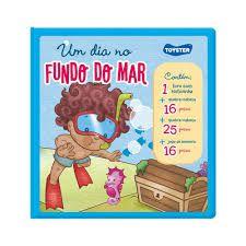 Livro Brinquedo - Um Dia Na Floresta - Toyster