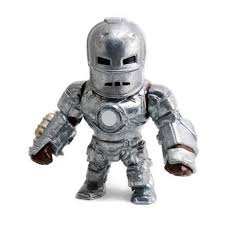 METAL DIE CAST - 4  IRON MAN  MARVEL CLASSIC - DTC
