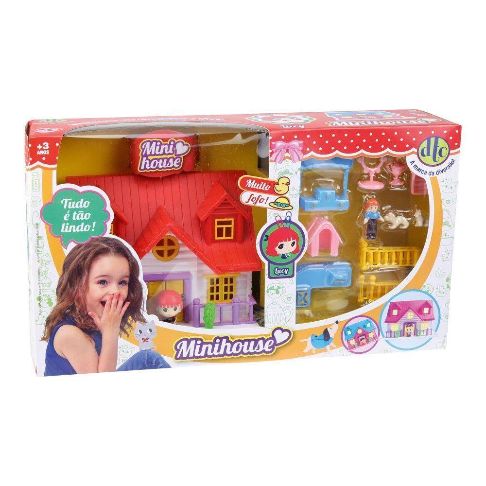 Mini House - Conjunto de Casinha e Pets