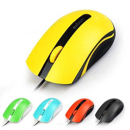 Mouse Óptico USB Color MS-50 Exbom