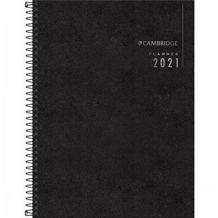 Planner Executivo Espiral Cambridge 2021 - Ref 123684