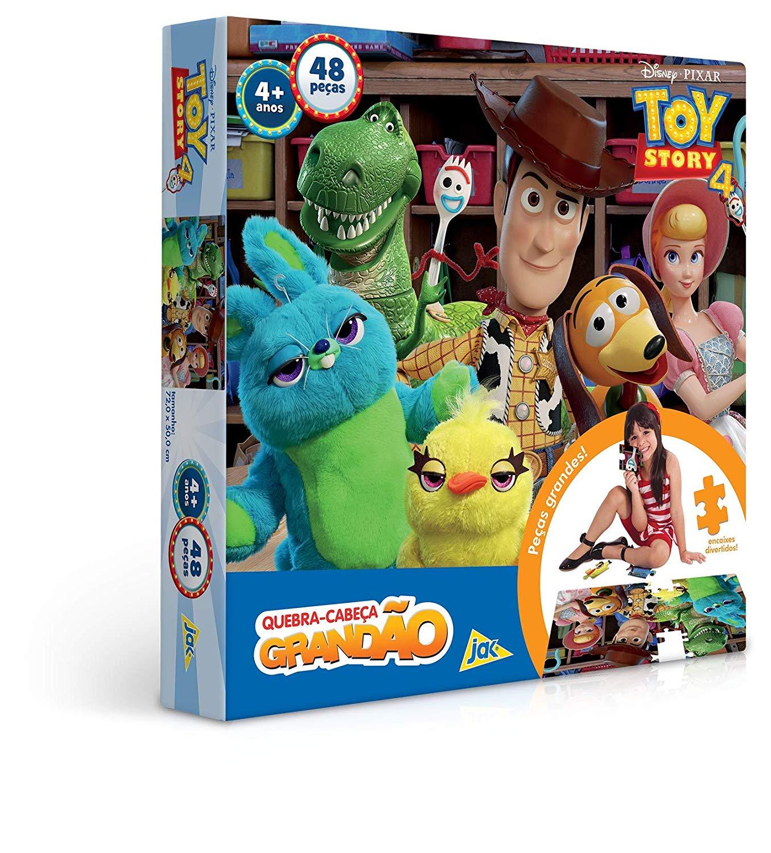 Quebra-Cabeça Grandão Toy Story 4 - 48 Peças