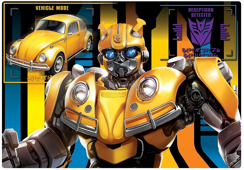 Quebra-Cabeça Grandão - Transformers - 120 Peças - Toyster