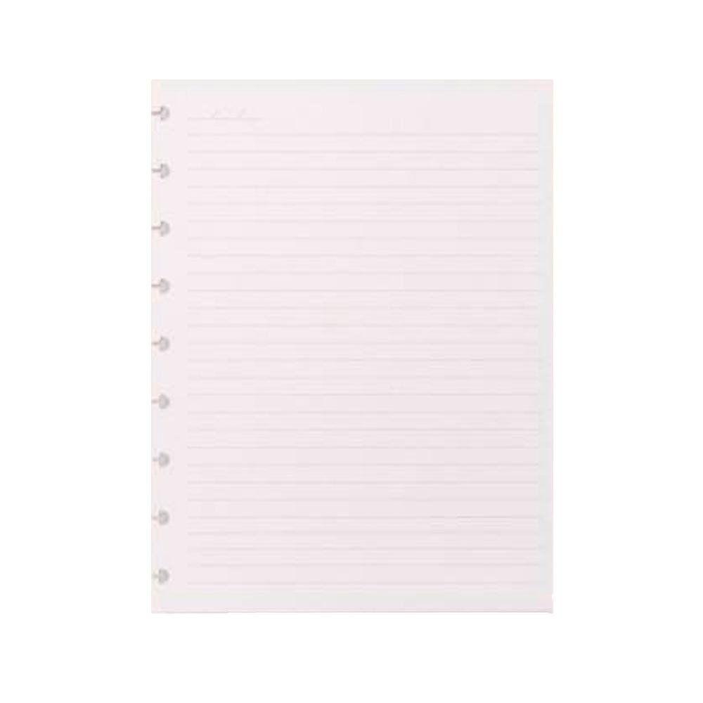 Refil Pautado Caderno Inteligente Grande 90gr - 50fls