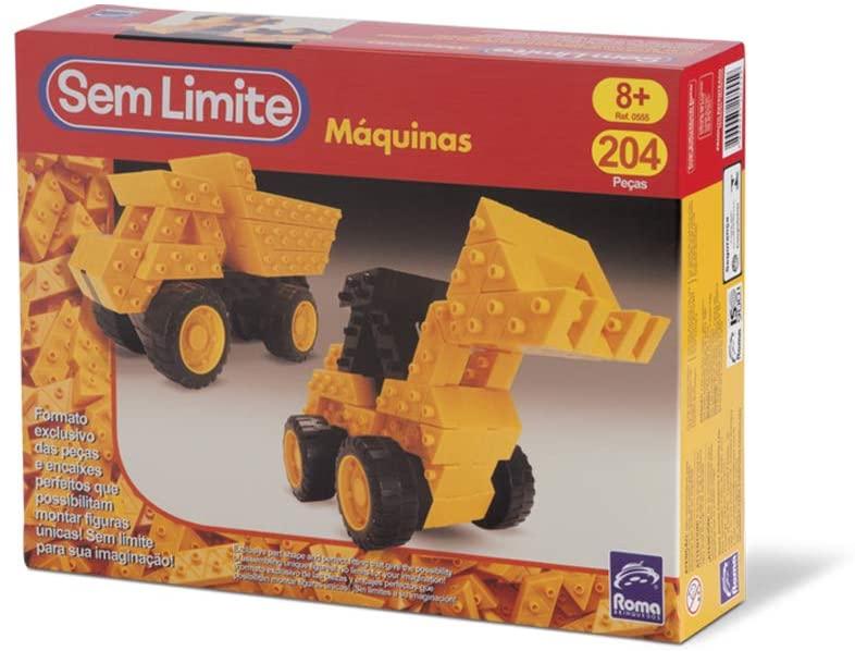 Sem Limite Máquinas - Roma - 204 Peças