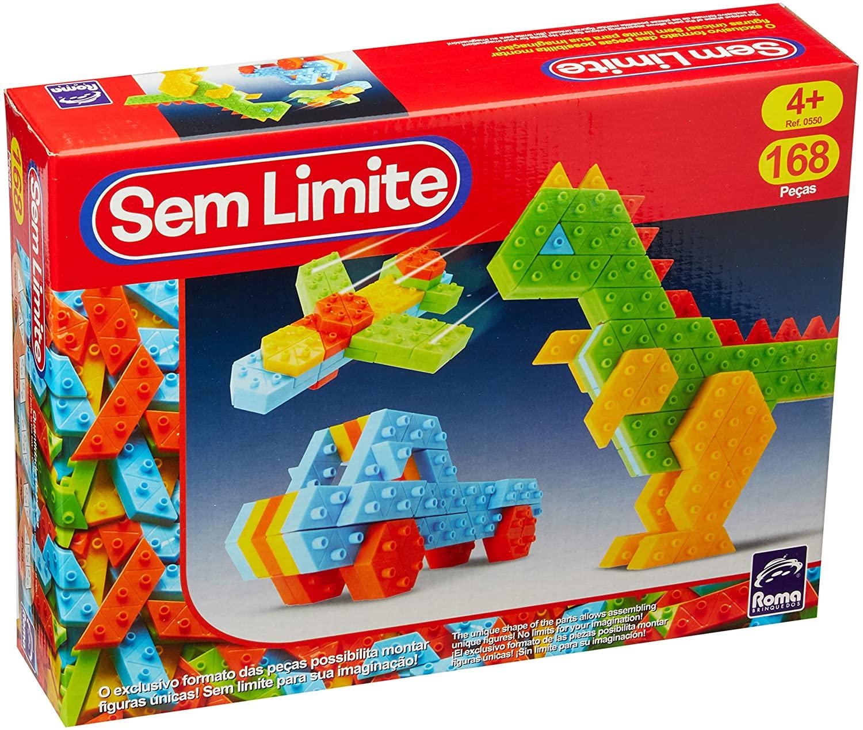 Sem Limite - Roma - 168 Peças