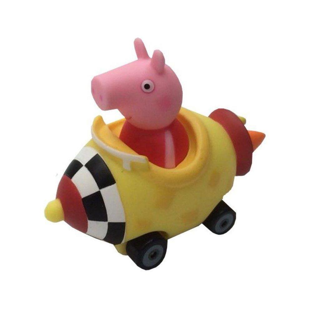 Veículo e Mini Figura - Fórmula Peppa - Dtc