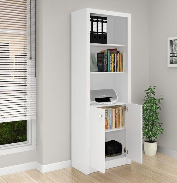 Armário para Escritório 2 Portas ME4110 Branco - MX14