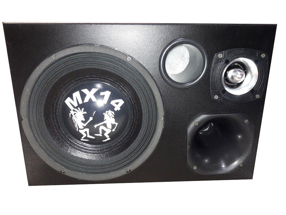 Caixa Trio Mx14 - 420wrms