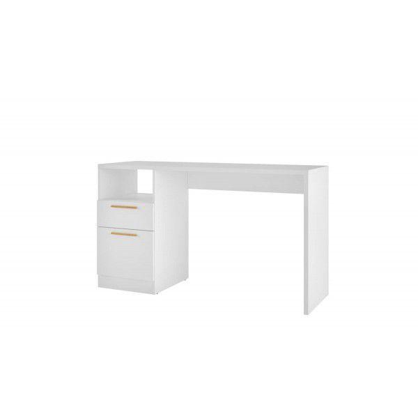 Mesa para Computador 2 Gavetas Mx14 BRANCO