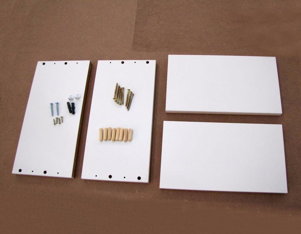 Nicho 30x30x15 Cm Branco ,100%mdf(15mm)