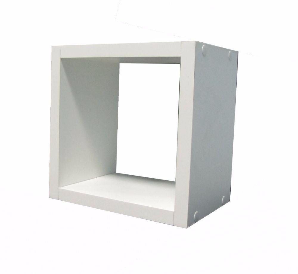 Nicho Cubo 30x30x30 Cm Branco 100% Mdf Espessura 15mm