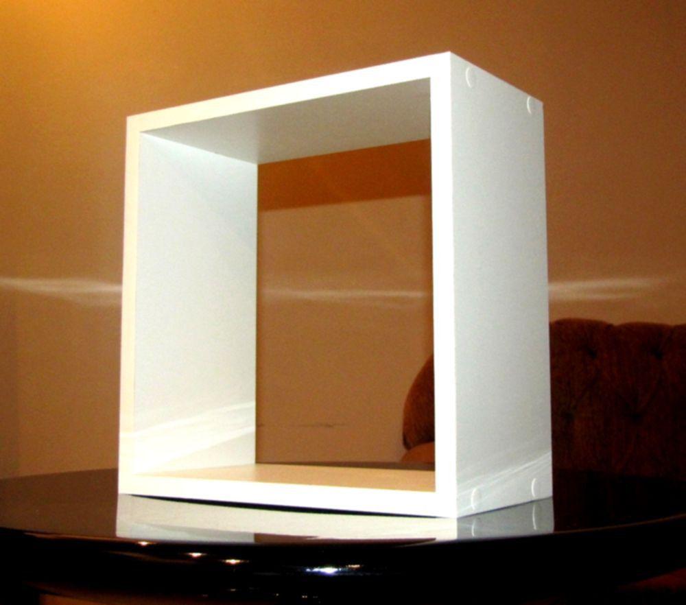 Nicho Decorativo Branco 40x40x20 Cm (mdf 15mm)