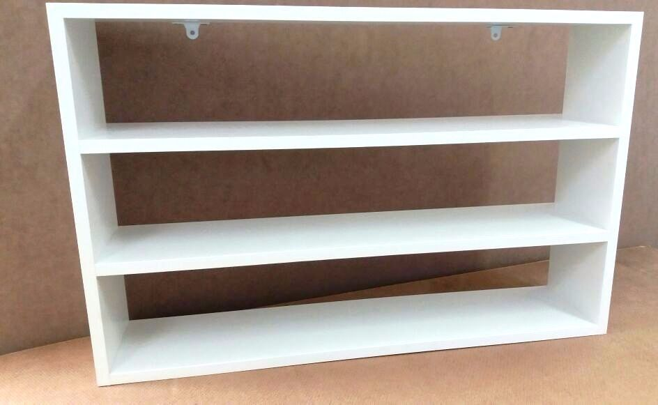 Nicho Decorativo Mdf Branco 60x45x10 Suporte Prateleira