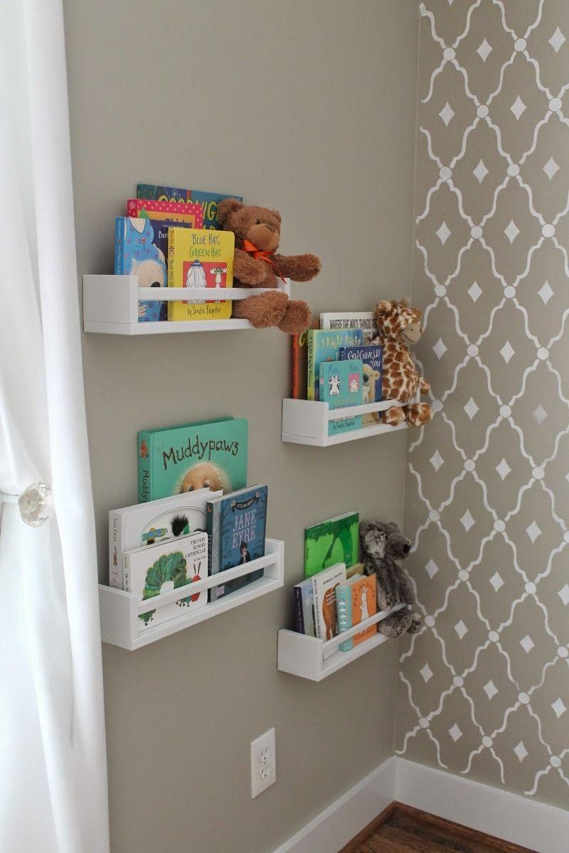 Prateleira para Livros quarto infantil 60 X 12 CM MDF