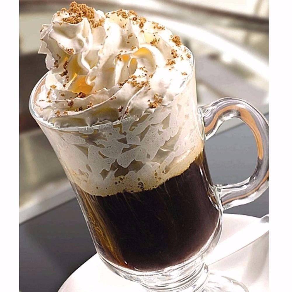Taças De Vidro Xícara Para Café Cappuccino 295 Ml Kit 6 Peças