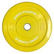 Anilha Olímpica Bumper Color 15 kg