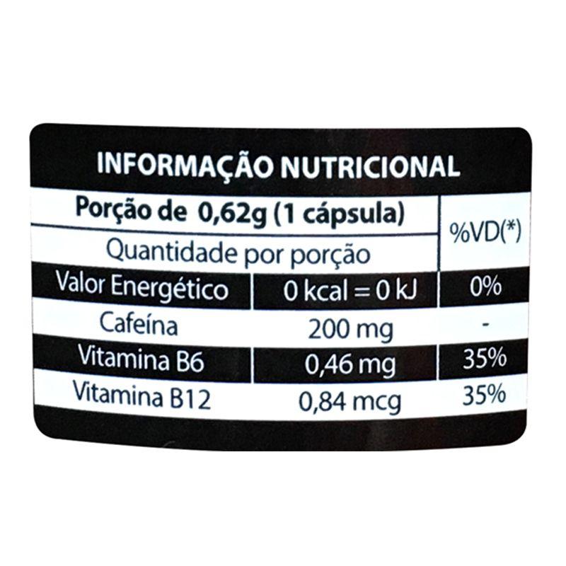 Cafeína - 120 cápsulas