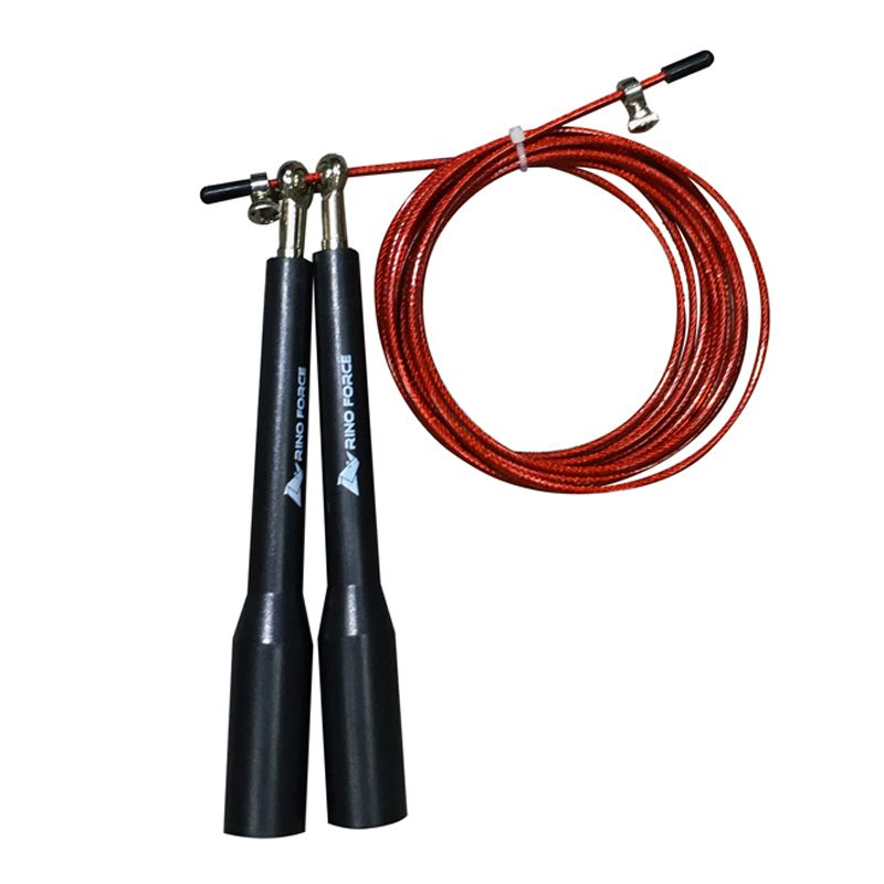 Corda de Pular Speed Rope Black com Duplo Rolamento
