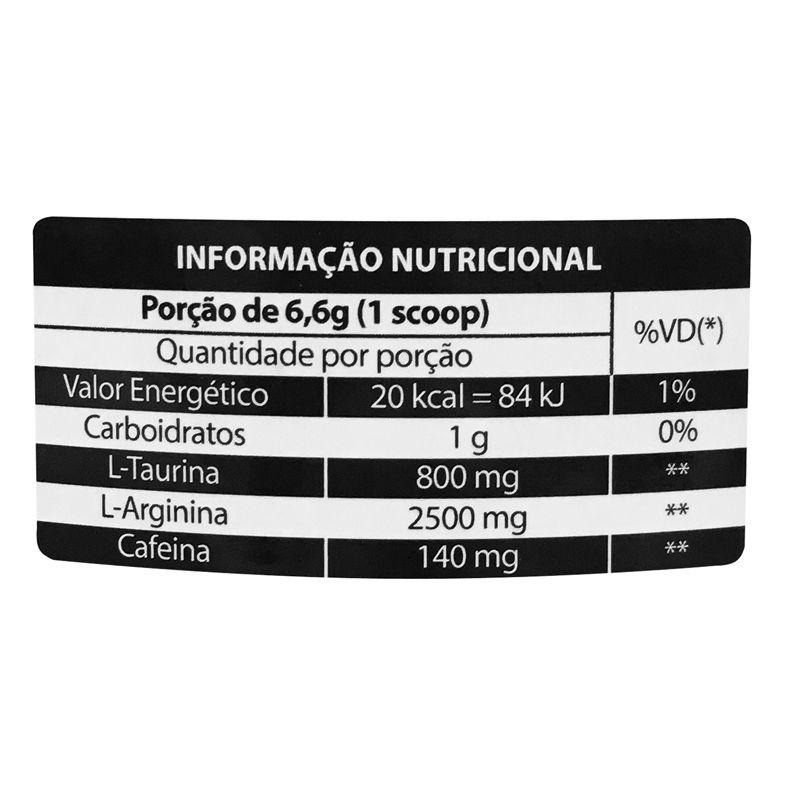 Pré Treino Ultra Concentrado Limão - 200g