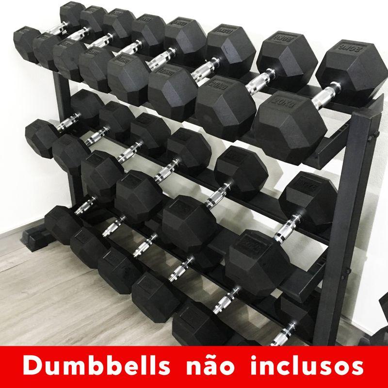 Suporte para Dumbbells de 12,5kg a 35kg