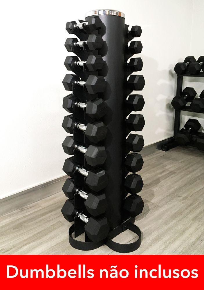Suporte para Dumbbells/Halteres de 1 a 10kg