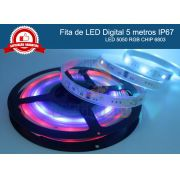 Fita LED digital 6803 RGB endereçavel