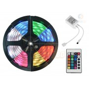 Fita LED RGB 5050 Sem silicone IP20