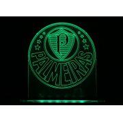 Luminaria/Abajur 3D ILUSION Palmeiras