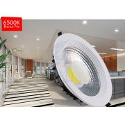 Luminária Downlight LED COB 30 watts BF Redondo
