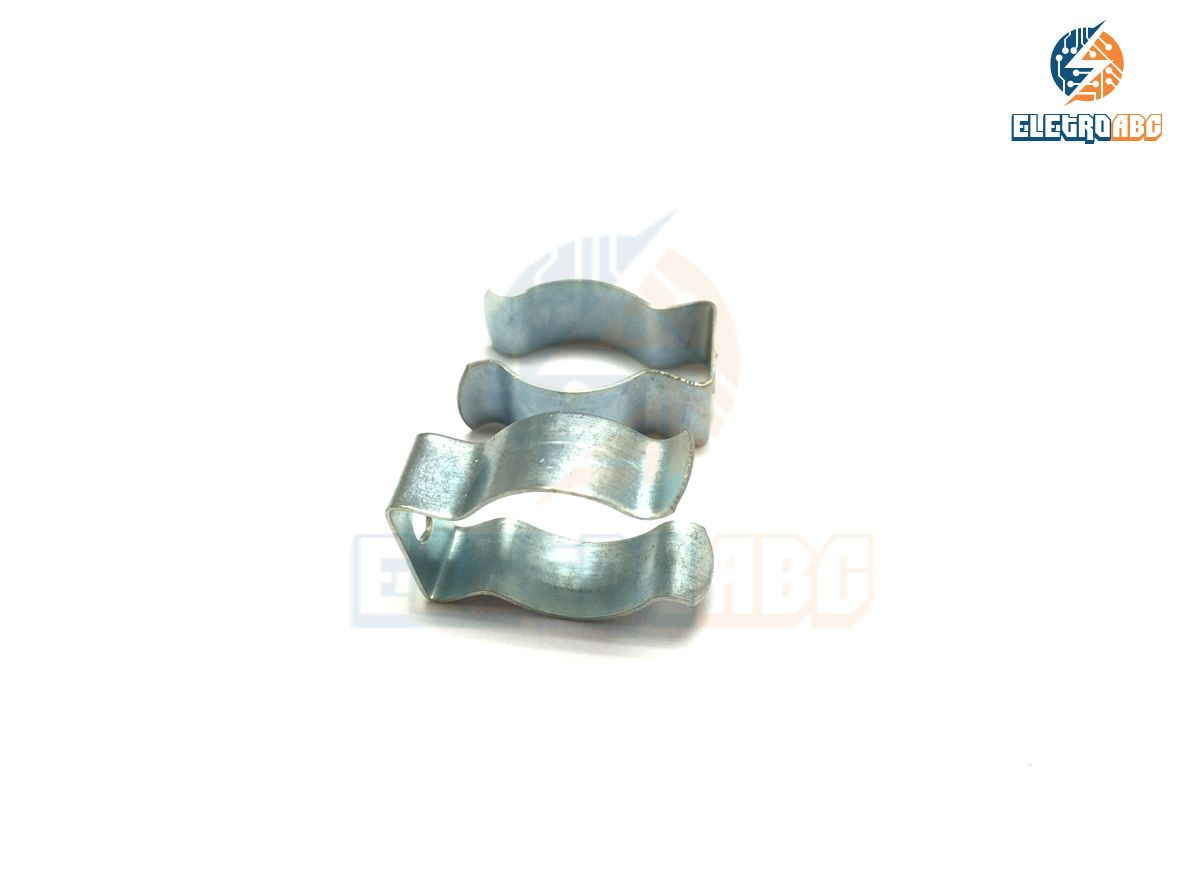 Abraçadeira de Aço para Lâmpada tubular T5