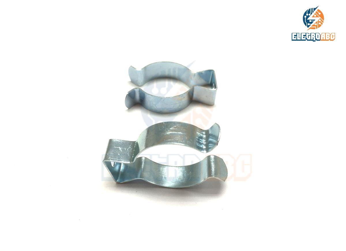 Abraçadeira de Aço para Lâmpada tubular T8 Longa