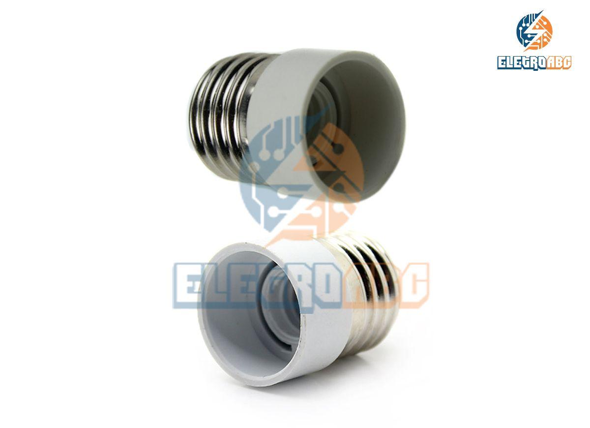 Adaptador De rosca E27 para rosca E14