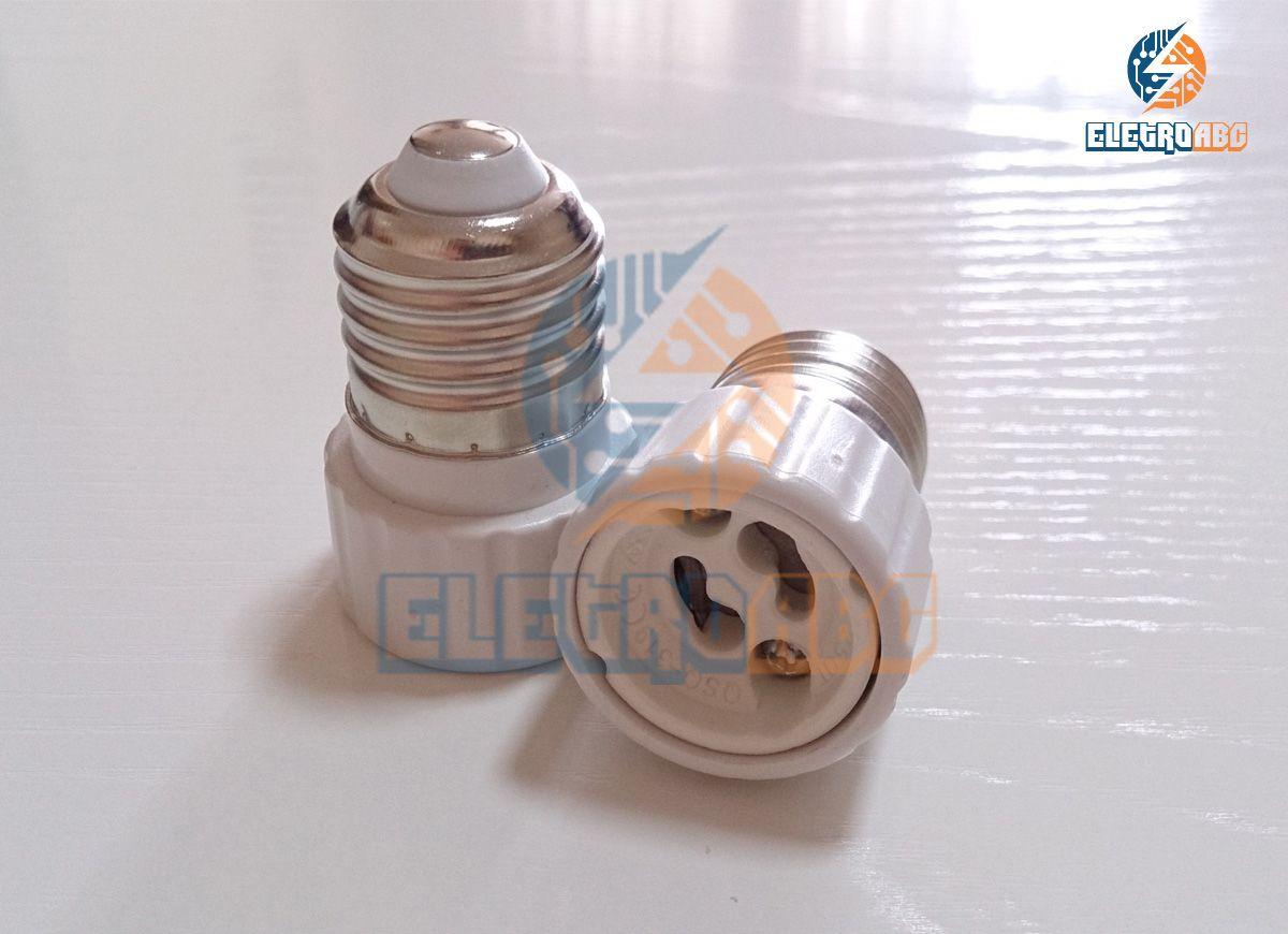 Adaptador E27/GU10