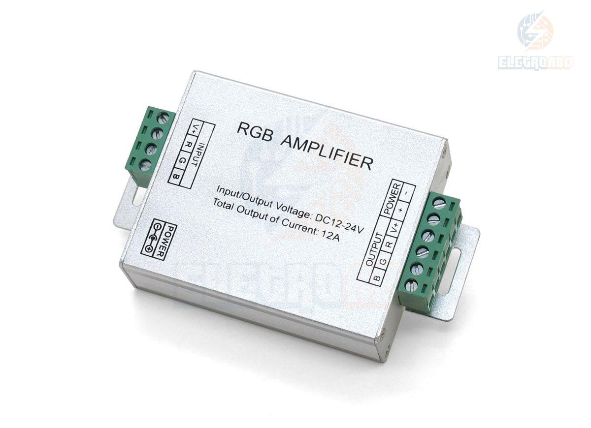 Amplificador 144 watts fita RGB