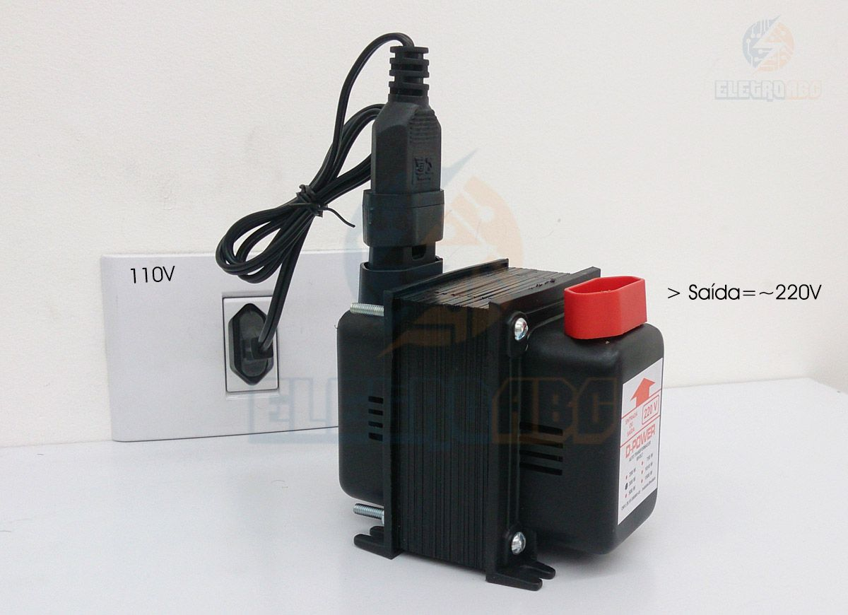 Autotransformador D-POWER 200 w