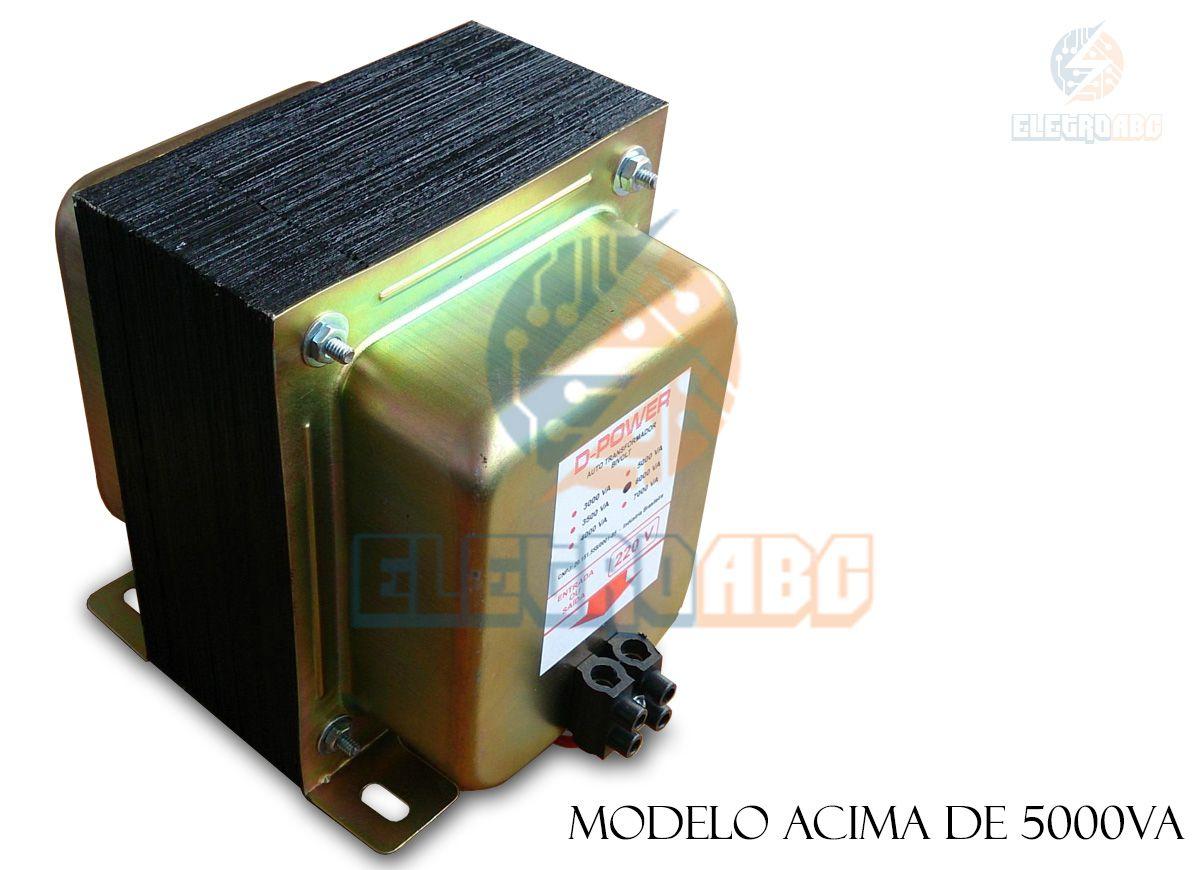 Autotransformador D-POWER 6000 w