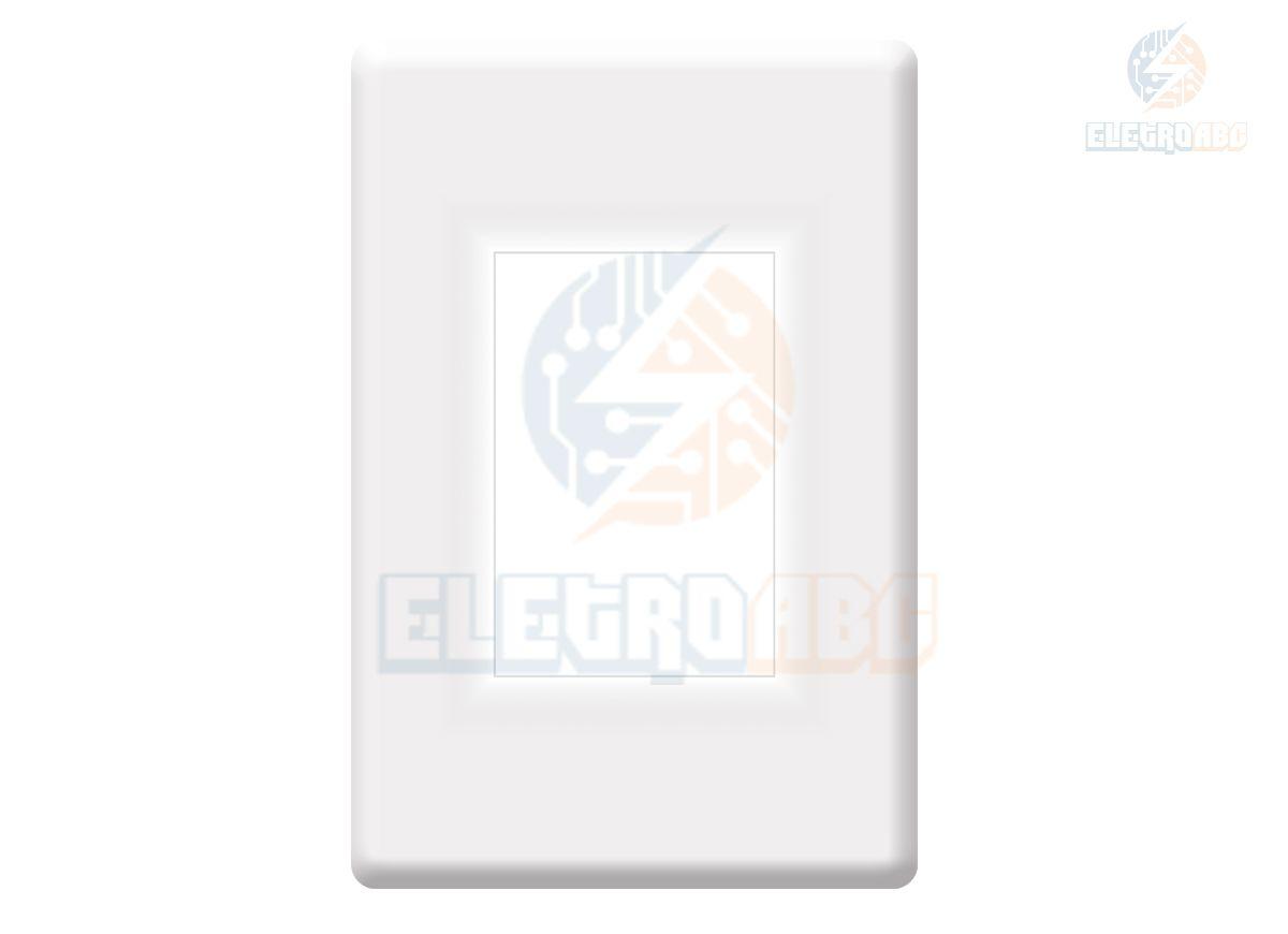 Balizador LED elegance 4x2 6500K 2W Bivolt