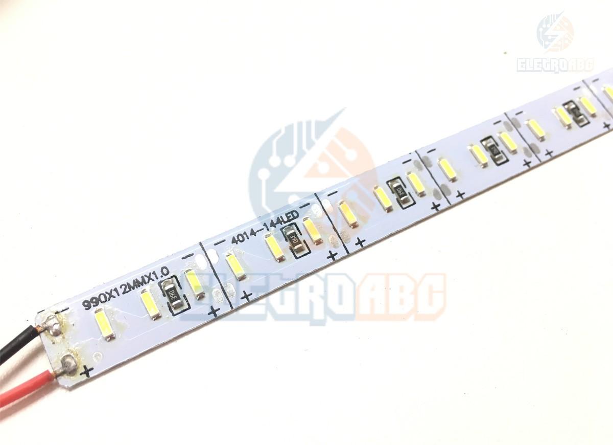 Barra de LED 4014 Aluminio 36W watts/metro BF  1 metro