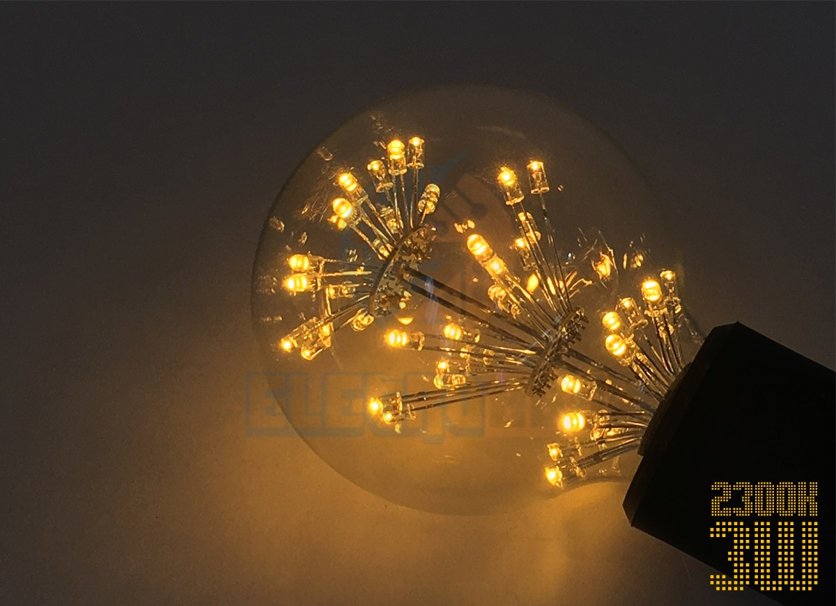 Bulbo LED Filamento 3W BQ G80S