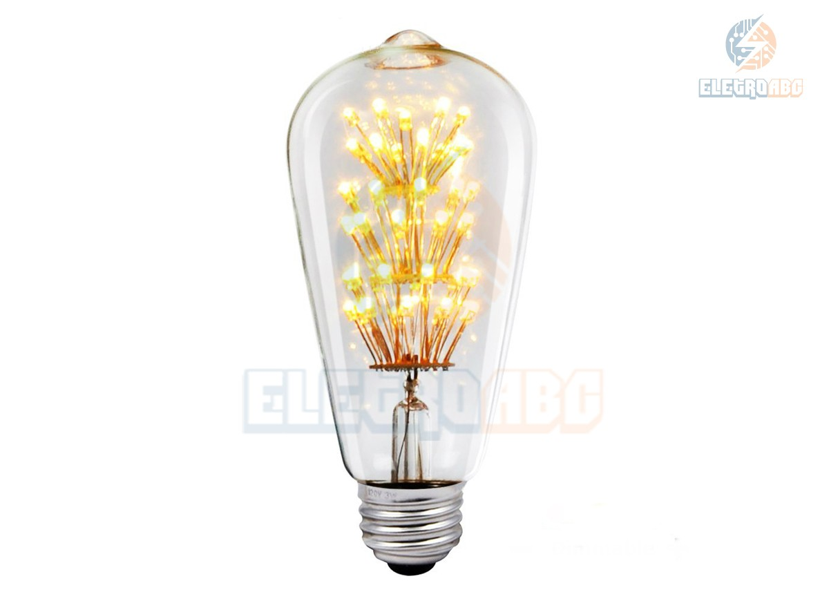 Bulbo LED Filamento 3W BQ ST64S