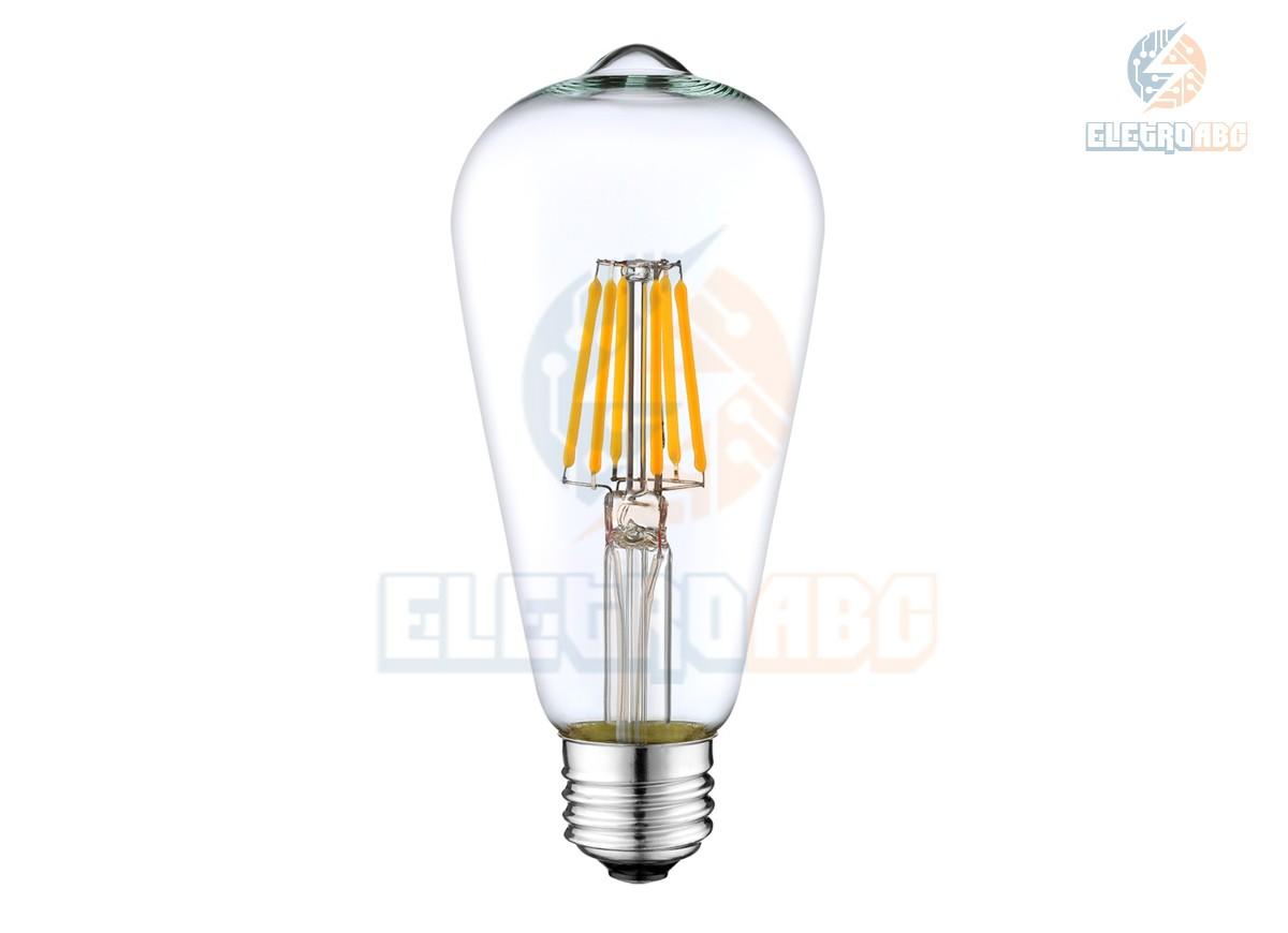 Bulbo LED Filamento 6W BQ ST64