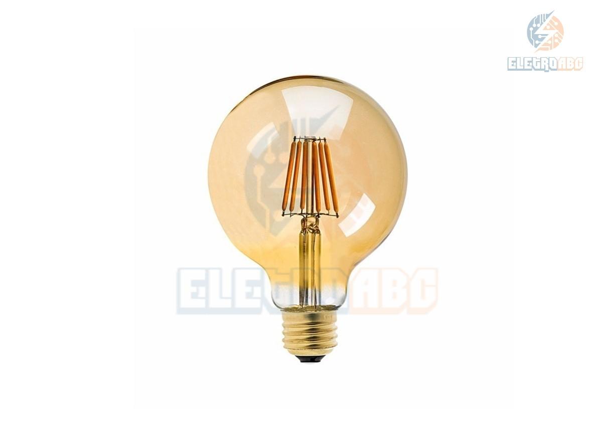 Bulbo LED Filamento 8W BQ G80
