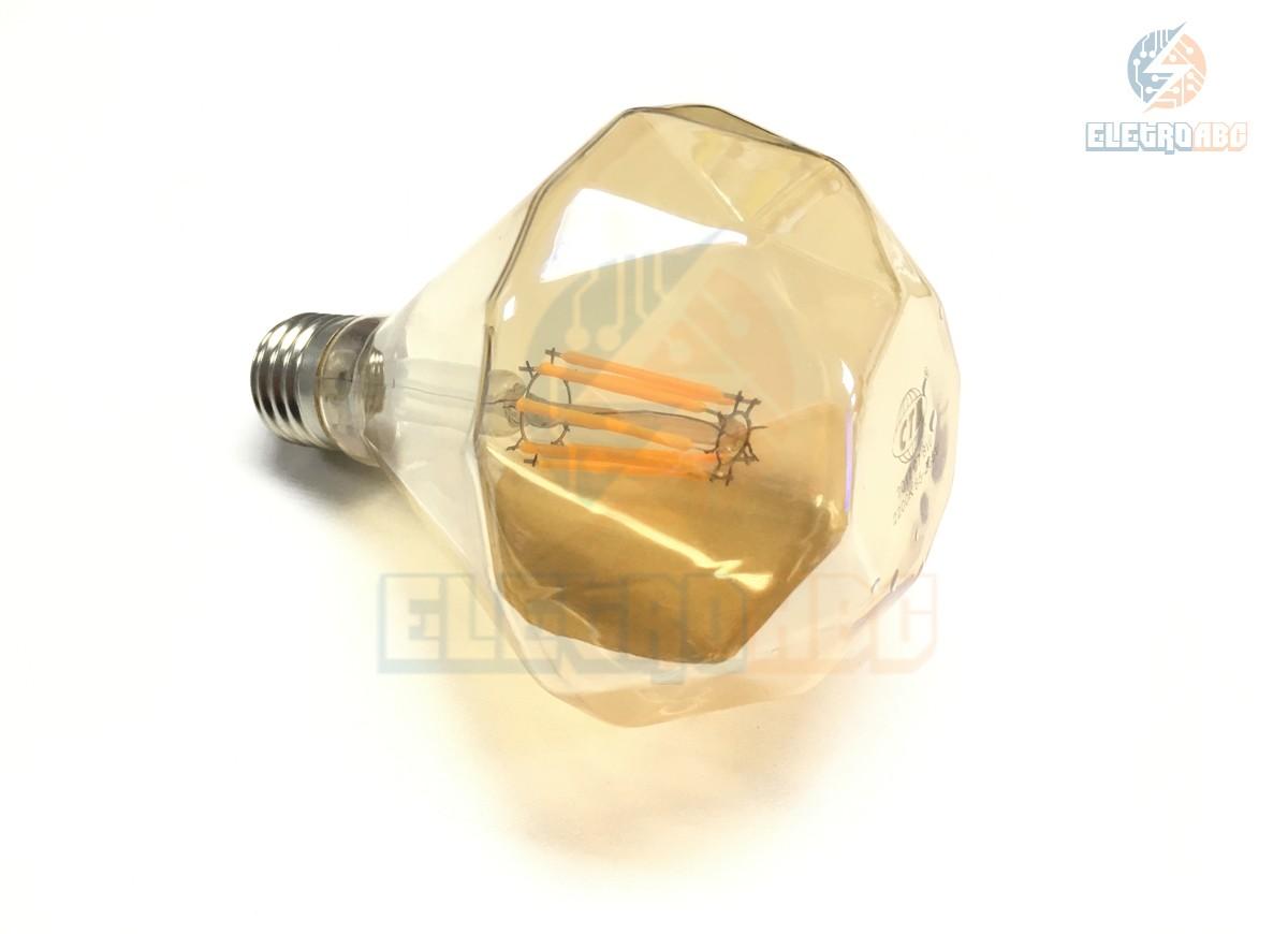 Bulbo LED Filamento 8W BQ G95D