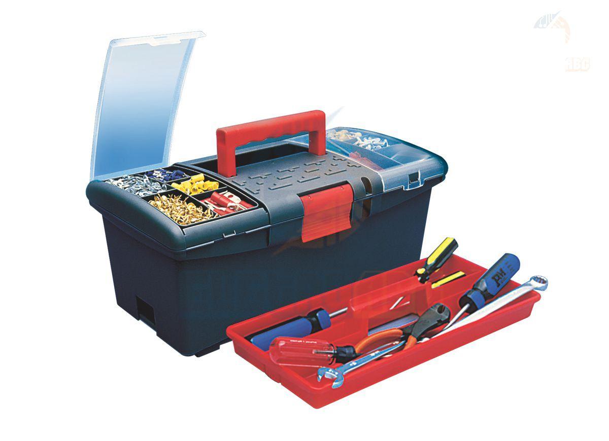 Caixa para ferramentas com organizador CF27