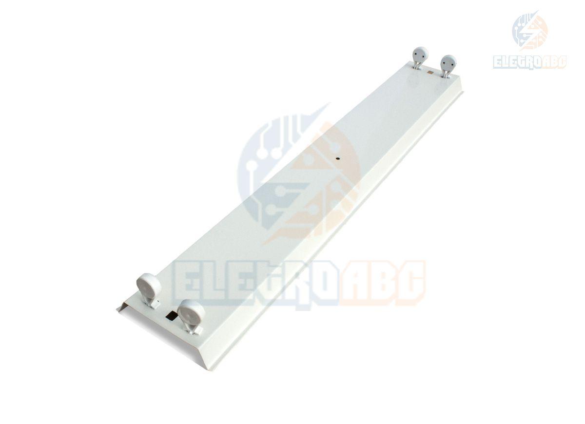 Calha comercial SLIM P/ Lâmpada 18W LED Tube