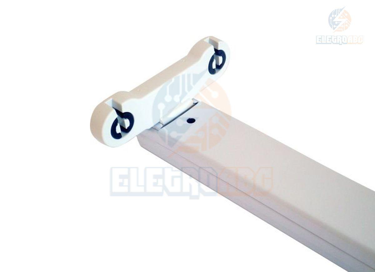 Calha para 2 Lâmpadas T8 60 cm Borboleta