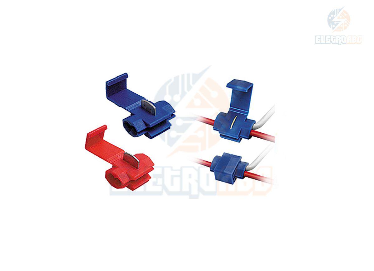 CONECTOR DERIVACAO TAPLINK AZUL 0,75-2,5 MM 10PCS